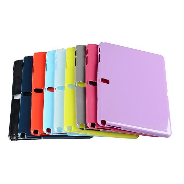 Slim Soft Silicon Rubber TPU Gel Protector Cover Tablet Protective Case for Samsung Galaxy Note 10.1 2014 Edition P600 P601 new x line soft clear tpu case gel back cover for samsung galaxy tab s2 s 2 ii sii 8 0 tablet case t715 t710 t715c silicon case
