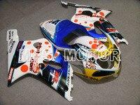 For Suzuki 00 02 GSX R GSXR 1000 GSXR1000 Motorcycle Fairing Bodywork Kit ABS Plastic Injection 2000 2001 2002 Blue White