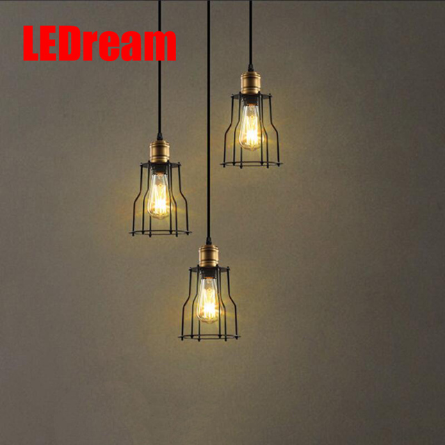 Scandinavische Designer Hanglamp LOFT Industriële Magazijn Lamp ...