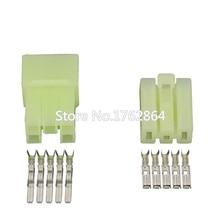 5 pin plastic parts automotive connector with terminal DJ7052-3-11 / 21  car