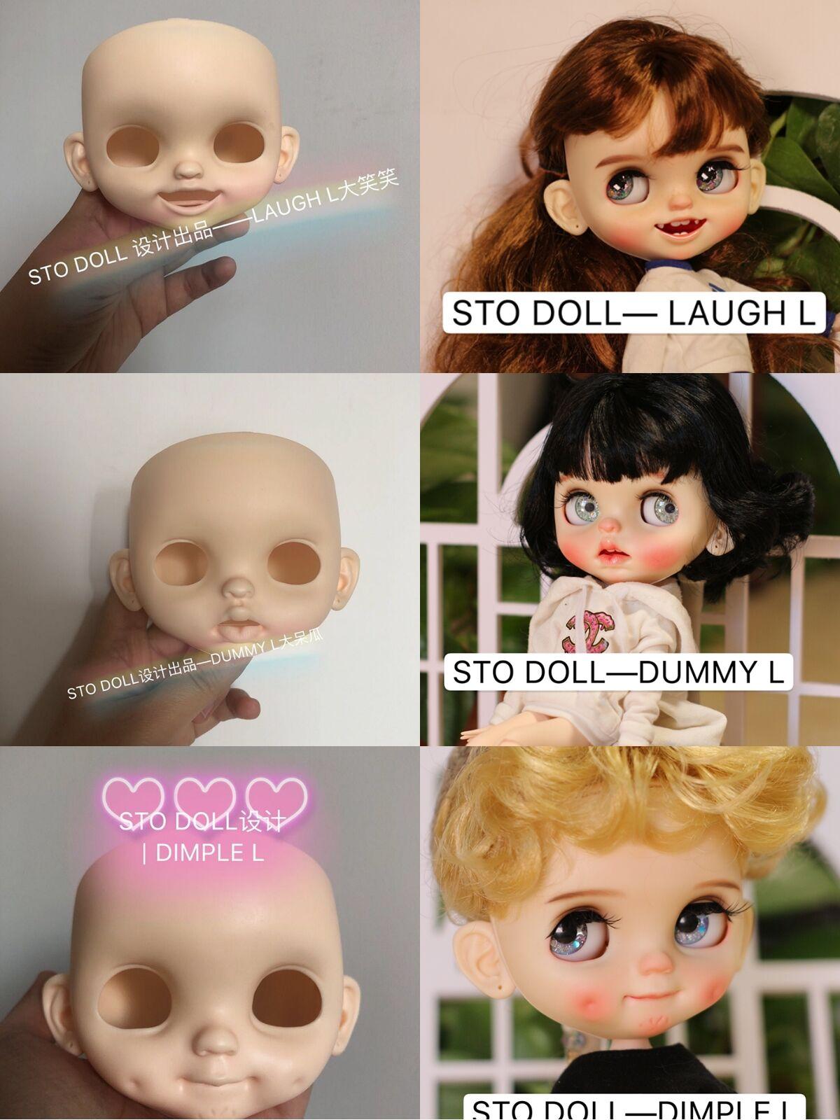 Oyuncaklar ve Hobi Ürünleri'ten Bebekler'de Özelleştirme bebek Çıplak blyth doll 20190528'da  Grup 1