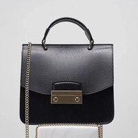 Известный бренд логотип дизайнер сумки через плечо для женщин 100% Натуральная кожаные сумочки