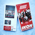Youpop KPOP IKON BOBBY SOLO HOLUP Album IKONCERT 30 Postcards 30 Small 120 Stickers K-POP Photo Cards Share Post Cards