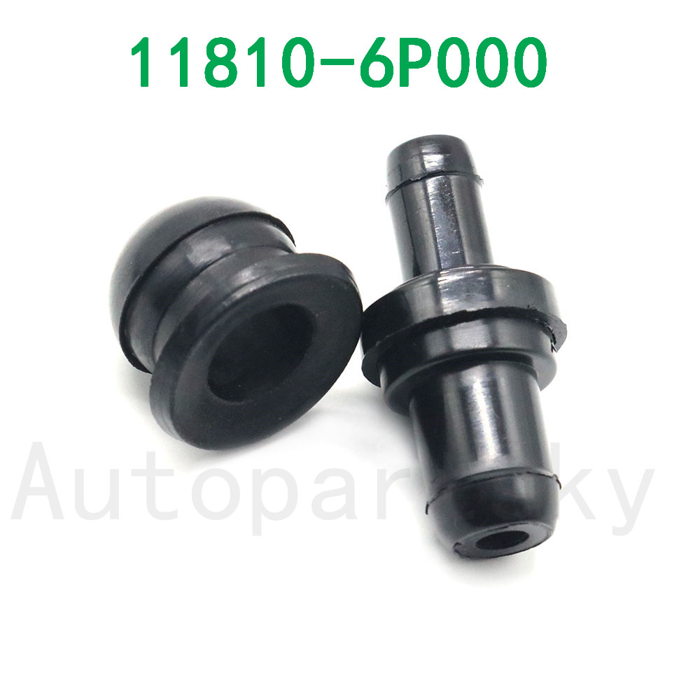 17130P2MA01, 1181241B00, 11810-6P000, 118106P000 New PCV Valve + Grommet Kit For Most Infiniti / Nissan Free Shipping