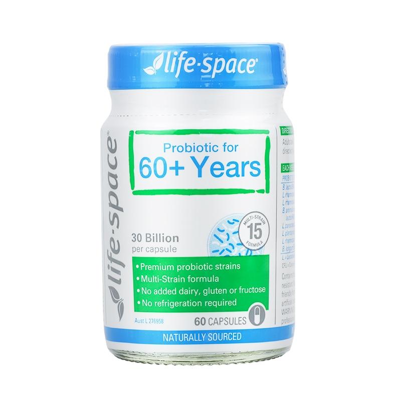 Probiótico para 60 + Anos Cápsulas Suporte Imunológico Digestivo Austrália