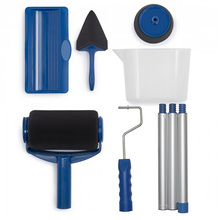 Multifunctional tool paint 5 pcs DIY Paint Roller Kit Painting Runner Decor Professional Tools Painting Wall Home Room cheap Tryway Pocket Multi Tools