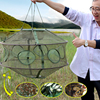 Top Quality Portable Fishing Net Fishing Trap Cast Net Foldable Shrimp Cage With 6 Holes Hot