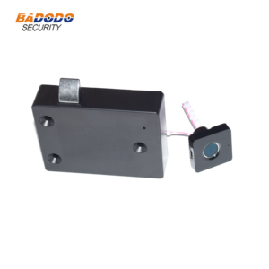 Image 1 - Plastic Fingerprint cabinet door lock biometric electric lock with chargeable battery  for drawer locker cupboards