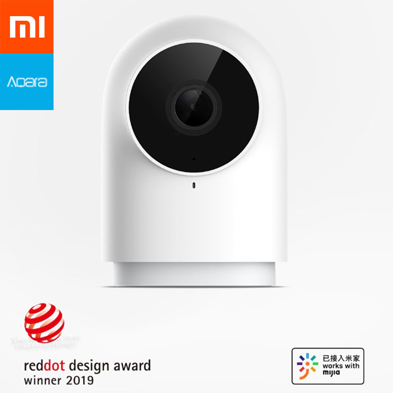 Nouveau Xiaomi Mijia Aqara caméra intelligente G2 1080P HD Vision nocturne AI Discern détection de mouvement comme Center de contrôle de périphérique intelligent-in Télécommande connectée from Electronique    1
