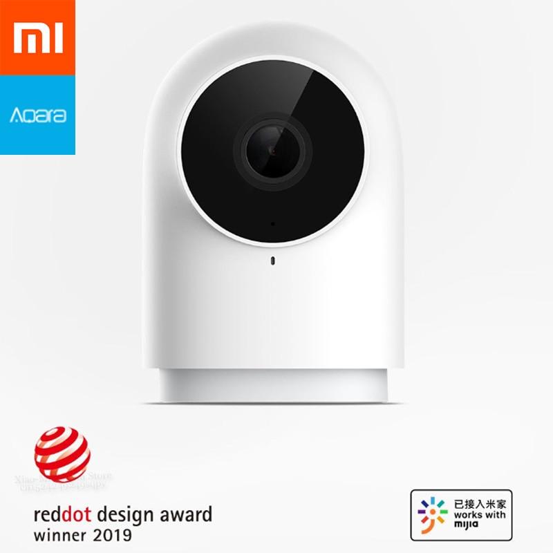 Nowy Xiaomi Mijia Aqara inteligentny aparat fotograficzny G2 1080P HD Night Vision AI dostrzec ruchu wykrywania, jak inteligentne urządzenie centrum sterowania w Inteligentny pilot zdalnego sterowania od Elektronika użytkowa na  Grupa 1