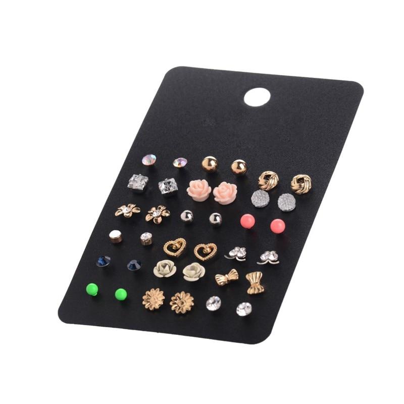 Accesorios de moda al por mayor Cheap Stud Earring Sets 18 pares / - Bisutería - foto 5