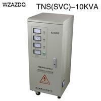 Automatic ac three phase voltage regulator TNS 10KVA high precision industrial grade 10KW power supply