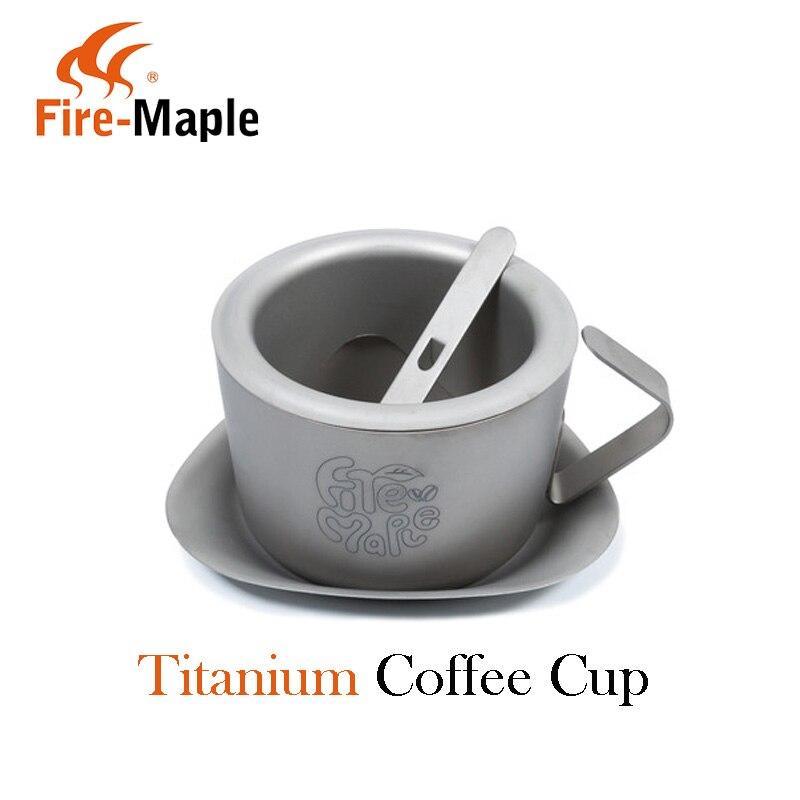 Fire Maple Shanqiu Titanium Ultra light Outdoor Coffee Cup Dripcoffee