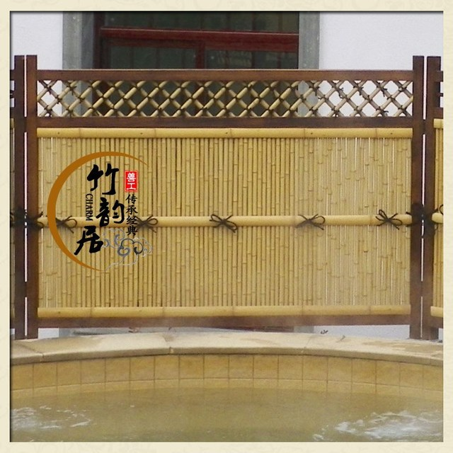 [ Good Work ] Handmade Bamboo Partition / Park Landscape Fence / Bamboo Decorative  Door /