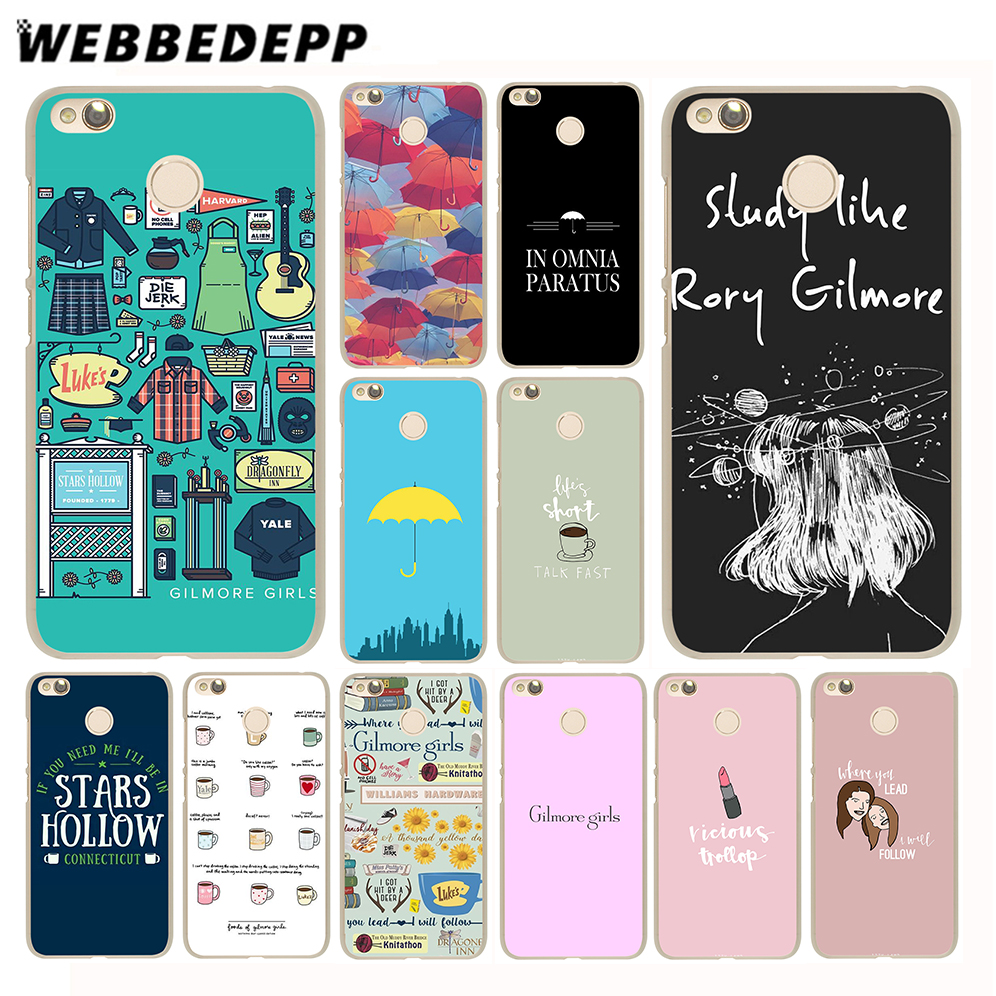 Webbedepp Девочки Гилмор чехол для Xiaomi Mi6 5S 5X A1 Redmi 4X 4A 5A 5 плюс 4 3 Pro 3 S Note 4 3 Pro 2