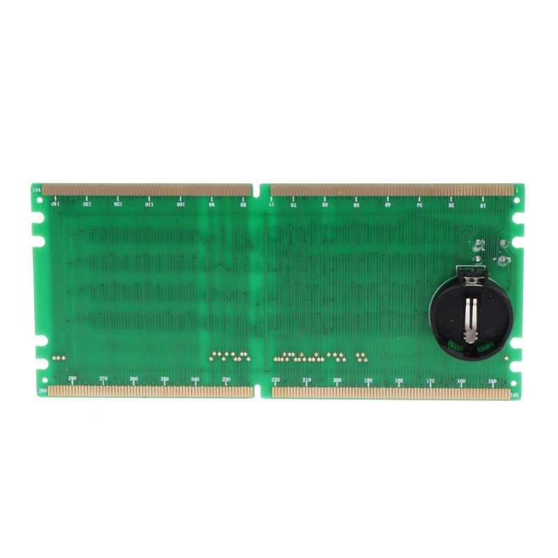AIMOMETER DDR4 テストカード Ram メモリスロット Led デスクトップマザーボードの修理アナライザテスター
