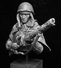 Boneco modelo de figura de resina de busto de 200mm, conjunto não pintado/bust044