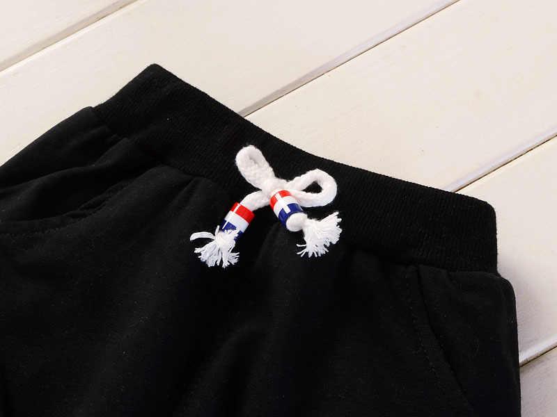 Primavera Otoño Niños Niños Niñas Trajes de Ropa de Bebé de La Manera Bordado Perro de Dibujos Animados Camiseta Pantalones 2 Unids/set Niño Chándal