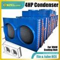مبادل حراري بأنبوب وزعنفة 4HP خيار رائع لأنظمة مكيف هواء متغيرة التدفق أو وحدات مضخة حرارية 3 في 1
