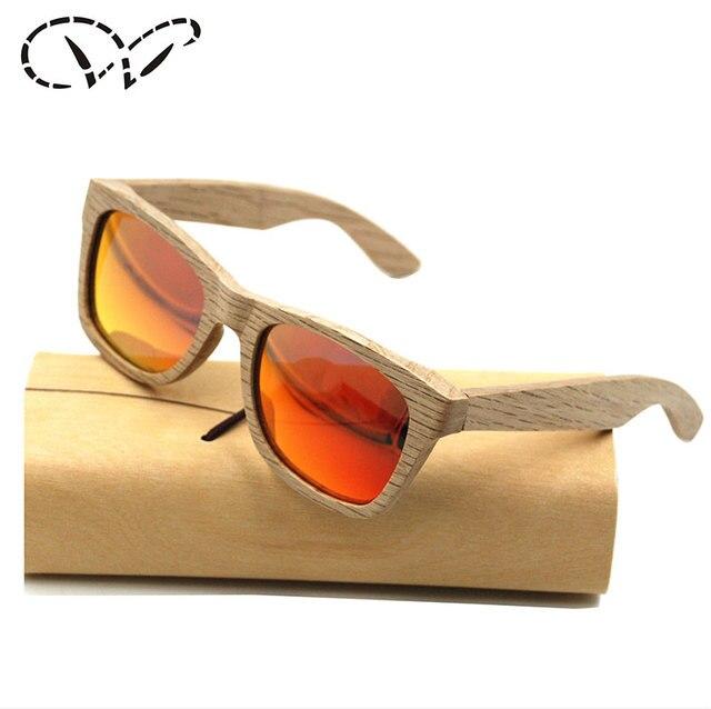 3b319ab499a32 Surf DU Wood Sunglasses Mens Bamboo Wood Sunglasses Brown Aviator DU Wood  Sunglasses