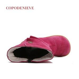 Image 5 - COPODENIEVE obuwie dziecięce wiosna jesień maluch chłopcy buty wsuwane dzieci wsuwane skórzane dziecięce obuwie na co dzień dziewczynka