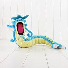 60 см милые gyarados синий плюшевые игрушки куклы горячая японский мультфильм плюшевые куклы мягкая кукла игрушка Популярные подарки для детей