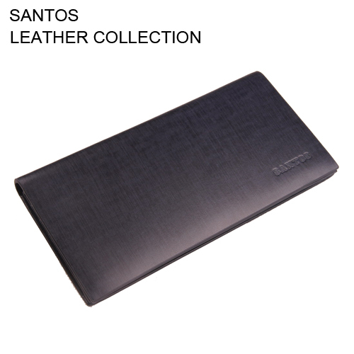 S.C Free Shipping + Long Coat Wallet+ Genuine Leather Walet+ Leather Bifold Wallet