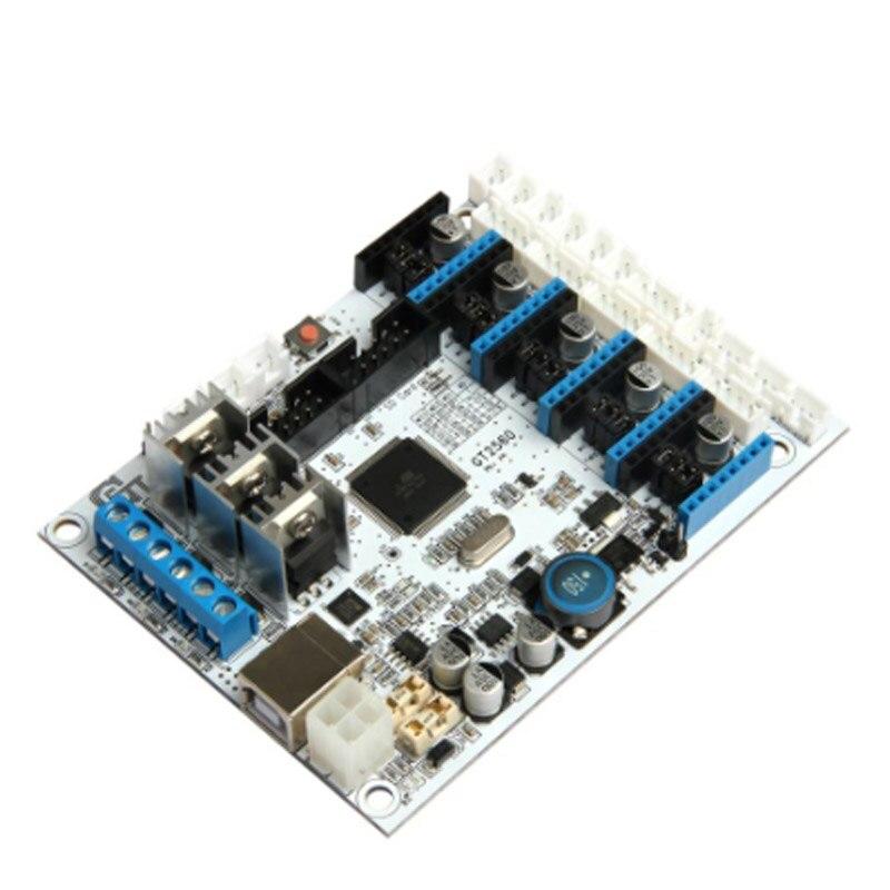 3D Printer Kit GT2560 Controller Board + LCD 2004 Display + 5 Pcs A4988 Stepper Motor Driver EM88 heacent hs01 diy 3d printer parts a4988 a4982 stepper motor driver heat sinks black 10 pcs
