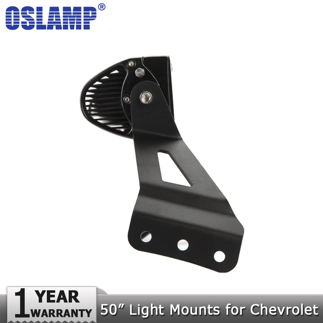 Oslamp 50 curved led light bar mounts light bar mounting brackets oslamp 50 curved led light bar mounts light bar mounting brackets for chevrolet silverado for aloadofball Images