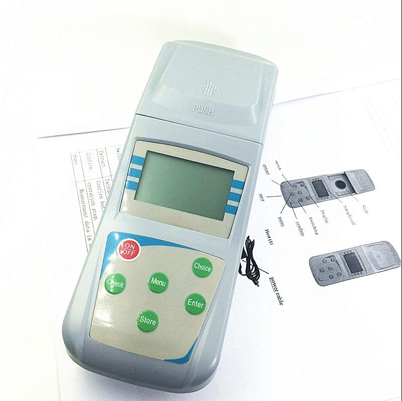 Micro Портативный электронный нефелометром метр концентрация montior Диапазон измерения: 0-200ntu минимальное значение: 0.1ntu