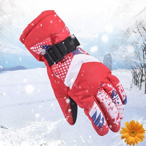 Luvas de Esqui de Inverno para Mulheres dos Homens de Esportes ao ar Windpoof à Prova Água de Esqui Ciclo de Snowboard Luvas da Motocicleta Novas Livre Quente d' Térmico 2020 ao ar