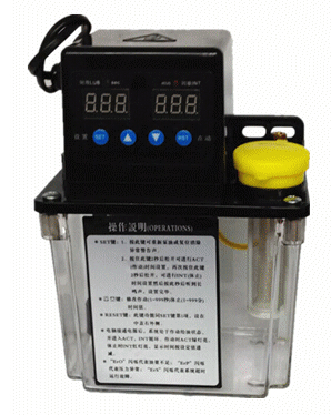 110V auto pause Digital electronic Timer Oil Pump 1L Automatic Lubrication pump for cnc router with pressure gauage full set 1 5l fully automatic lubrication pump 220v single screen oil lubrication pump for cnc router