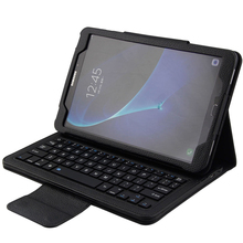 Wireless Bluetooth Keyboard +PU Leather Cover Protective Smart Case For Samsung Galaxy Tab A 8.0 Inch Tablet T350 T351 T355 wireless bluetooth keyboard case cover for galaxy tab p1000