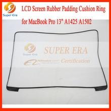 "10pcs/lot perfect NEW original for macbook pro 13"" retina A1425 A1502 screen display lcd led rubber bezel frame ring 2012-2015"