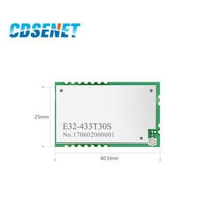 Image 2 - لورا SX1278 433MHz rf وحدة 1 واط طويلة المدى الإرسال والاستقبال CDSENET E32 433T30S UART مصلحة الارصاد الجوية 30dBm 433 mhz IOT جهاز ريسيفر استقبال وإرسال
