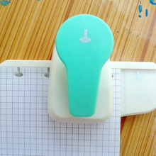 Mushroom Hole Puncher DIY Paper Cutter Single Manual Book Loose-leaf Accessories With Positioning Student Office Stationery