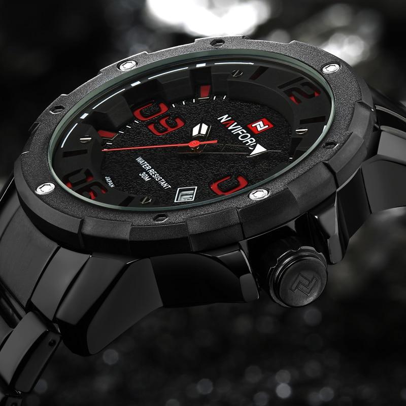 цены NAVIFORCE Watches Men Top Luxury Brand Hot Design Military Sports Wrist watches Men Digital Quartz Men Full Steel Watch Relojes