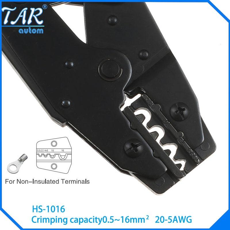 HS-1016 wire stripper EUROP STYLE ratchet crimping PLIER crimping plier 0.5-16mm2 multi tool