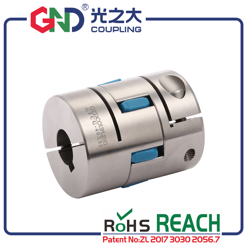 flexible coupling GFCG stainless steel plum type clamping series Shaft Couplings|Shaft Couplings| |  - title=