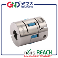 flexible coupling GFCG stainless steel plum type clamping series Shaft Couplings