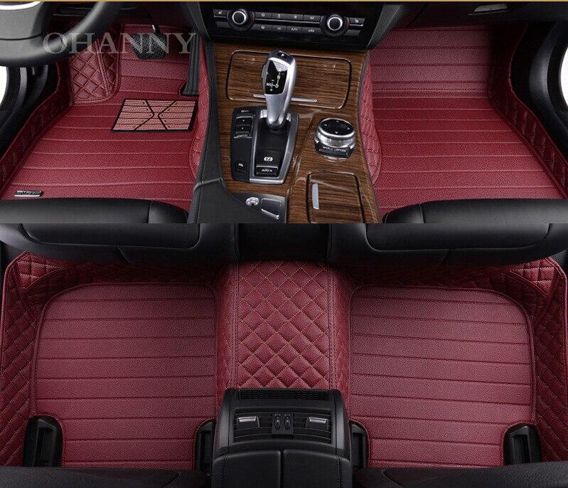 custom car weather carpet floor all cars mats red for mat