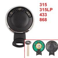 3 Buttons Remote Key Cas Stystem For BMW Mini Cooper 315 315LP 433 868 MHZ