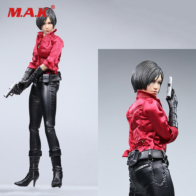 1/6 Scale 12 Inches Female Full Action Figure Resident Evil Ada Wang Casual Version Action Figure Model Toys for Collection