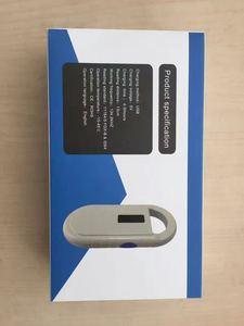 Image 5 - ISO FDX B Palmare animale lettore rfid Portatile OLED Display pet microchip scanner per il cane di pesce + 2pcs 2*12 millimetri Pet chip siringa