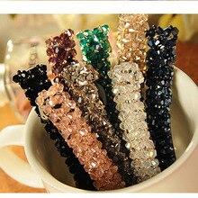 1 шт. Bling хрустальные шпильки для волос головные уборы для женщин девочек Стразы заколки невидимки для волос заколка Инструменты для укладки аксессуары 6 цветов