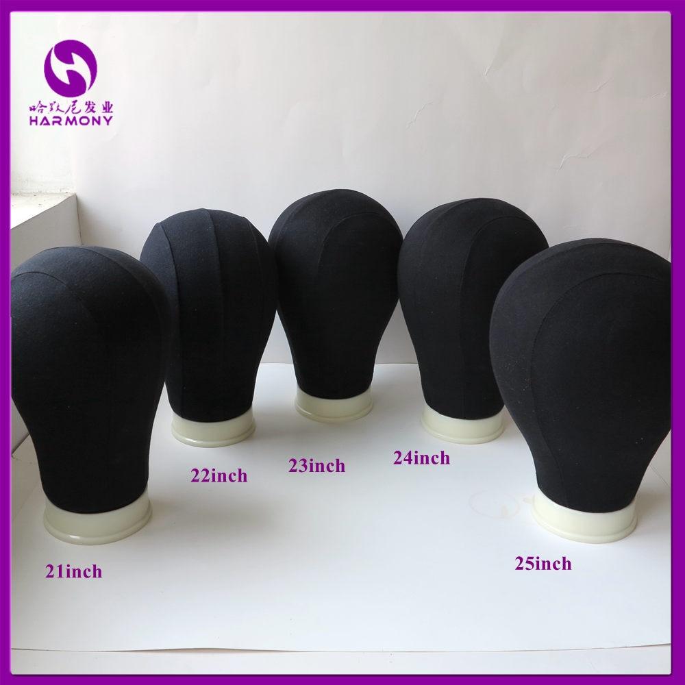 Black Mannequin Head
