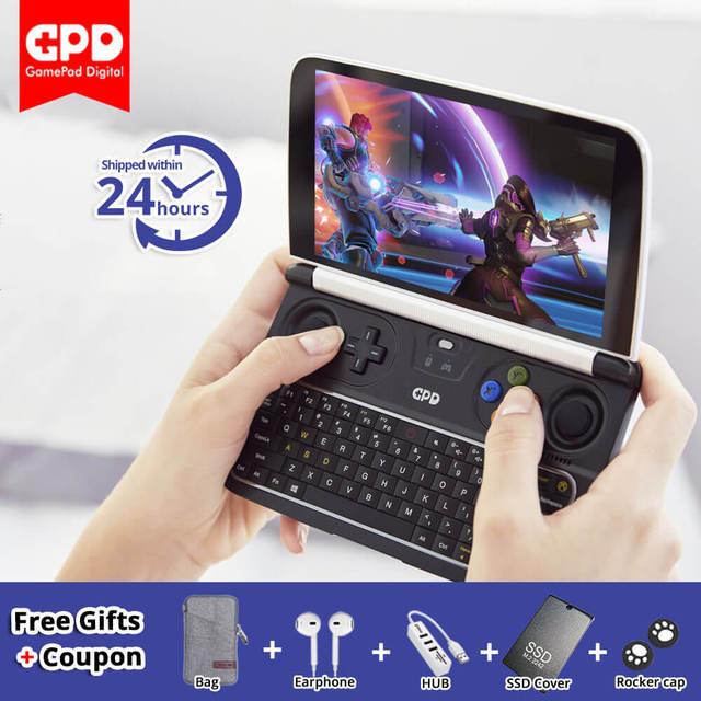 GPD WIN 2 WIN2 6'' Mini Handheld Gaming Laptop Intel Core m3 7Y30 Windows10 System 8GB RAM 128