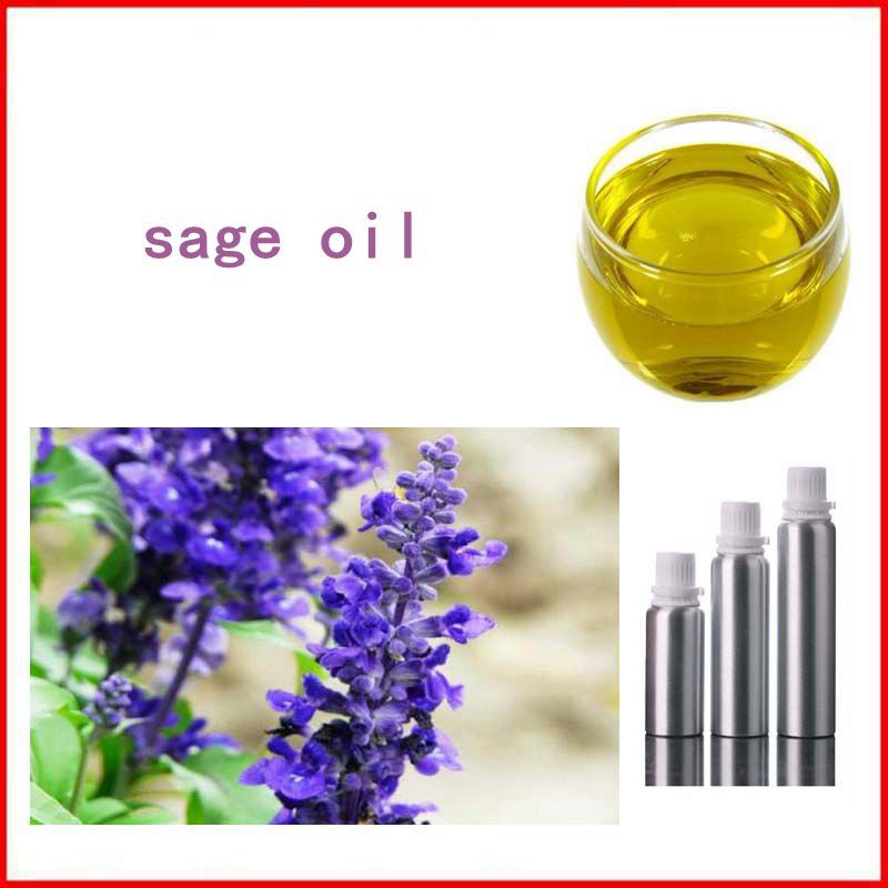 100% Natural&Pure Sage/ Salvia Oil with free shipping, Skin care 1000mg 100 pcs fish oil bottle for health capsules omega 3 dha epa with free shipping