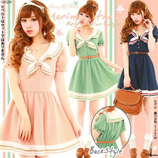 Японская мода на платья