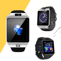 10PCS Smart Watches Smart Watch For SIM/TF Dz09 Touch Screen Android Bluetooth Smartwatch Dial Call Clock Watch Y113 Q18 GT08